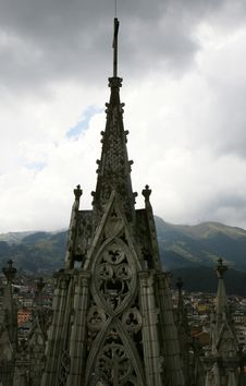 Free Gothic Church Spires Stock Images - 4334604
