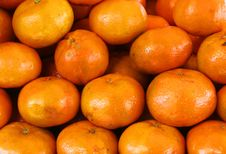 Organic Oranges Stock Photo