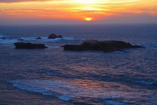 Free African Sunset Royalty Free Stock Photography - 4335087