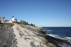 Pemaquid Lighthouse Royalty Free Stock Photos