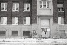 Free Abandoned School Stock Photo - 4338090