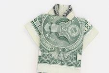 Free One Dollar Shirt Stock Photography - 4338192
