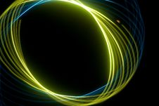 Free Abstract Green Spiral Royalty Free Stock Photo - 4338385