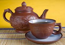 Free Tea Service Royalty Free Stock Image - 4339676
