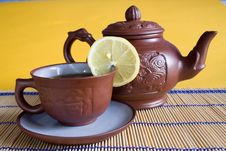 Free Tea Service Stock Photography - 4339762