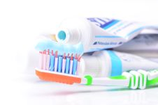 Free Toothpaste Stock Image - 43326781