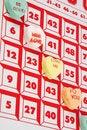 Free Hearts Bingo Royalty Free Stock Photos - 4345178