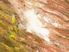 Free Volcanic Steam Royalty Free Stock Photo - 4340245