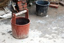 Free Old Tubs Royalty Free Stock Photography - 4341067