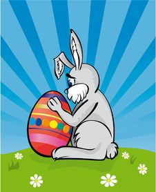 Free Easter Bunny Stock Images - 4341094