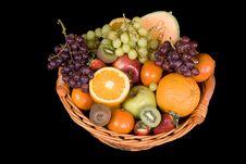 Free Fruit Basket Stock Photo - 4341580