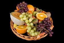 Free Fruit Basket Stock Photography - 4341592