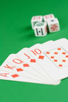 Free Playing Cards Stock Photo - 4341630