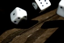 Roll The Dice Royalty Free Stock Image