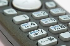 Free Phone Keypad Macro Royalty Free Stock Image - 4342546