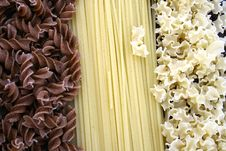 Assorted Pasta Stock Photography