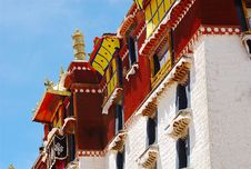 Free Potala Palace Royalty Free Stock Image - 4343136
