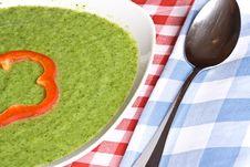 Broccoli Soup Royalty Free Stock Photo