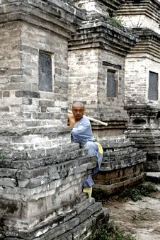 Chinese Kung Fu Stock Photo
