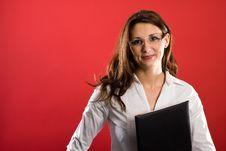 Free Your Female Secretary Stock Images - 4343594