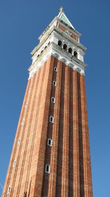 Tower In Venice Royalty Free Stock Image