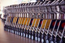 Free Baggage Trolleys Stock Photos - 4343853