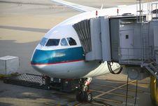 Free Aircraft Unloading Stock Photos - 4344013