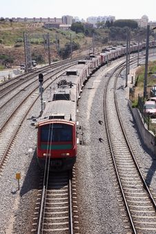 Free Railway Track System Royalty Free Stock Photography - 4344147
