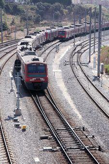 Free Railway Track Stock Image - 4344271