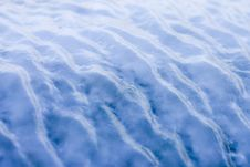 Free Blue Ice Waves Royalty Free Stock Image - 4344386