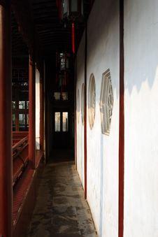 Free Ancient Corridor Stock Images - 4345294