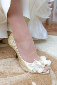 Free A Shoe Of The Bride Stock Images - 4346254