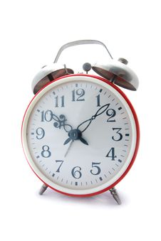 Free Red Alarm Clock Stock Photography - 4346652