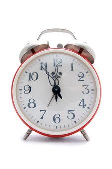 Free Red Alarm Clock Stock Photos - 4346673