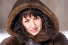 Free Woman In Fur Royalty Free Stock Image - 4346796