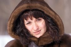 Free Woman In Fur Stock Images - 4346804