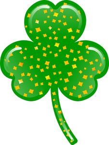 Free Clover Leaf Stock Image - 4347341