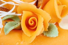 Free Orange Rose Royalty Free Stock Image - 4347656