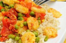Free Saffron Shrimp Stock Photos - 4347953