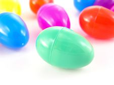 Free Plastic Easter Eggs Stock Images - 4348124