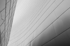 Free New Architecture Detail Angle B&W Royalty Free Stock Image - 4348216