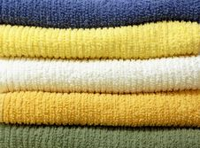 Free Cotton Towels Royalty Free Stock Photos - 4348478