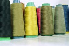 Free Sewing Thread Royalty Free Stock Images - 4349099