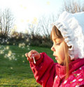 Free Blowing Bubbles Stock Photos - 4350833