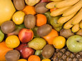Free Background From Fresh Fruit. Stock Images - 4355724