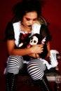 Free Anime Goth Doll Stock Photos - 4355753
