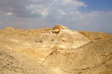 Free Arava Desert - Dead Landscape, Stone And Sand Stock Photos - 4350473