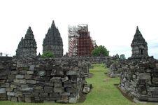 Free Prambanan After Earthquake Royalty Free Stock Image - 4350746