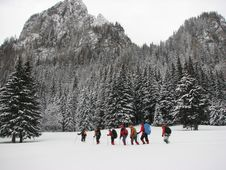 Free Mountain Trip Stock Image - 4351551