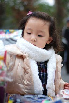 Free Beautiful Girl Play Toys Stock Photos - 4351953
